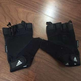🚚 Adidas 健身手套 小手