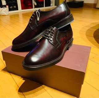 Leonardo Principi men dress shoes - Burgundy red