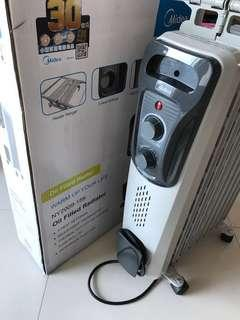Midea oil filled heater ny2009-15k
