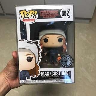 Funko Pop Stranger things Max Holloween