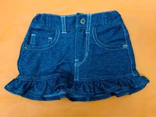Guess mini-skirt (size:12mos) worn only 3 times RFS:Decluttering