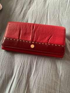 #CNY888 Bonia Red Purse/Wallet