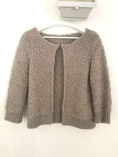 French brand Caroll teddy style sweater
