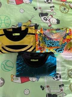 3 Authentic Versace Jeans Tees