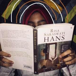 novel hans by risa saraswati