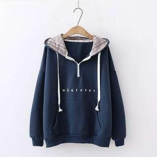 Hoodie all size fit to L