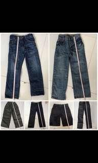 Pants of various size (each)