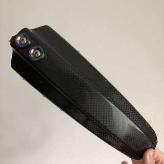 Carbon fibre mudguard