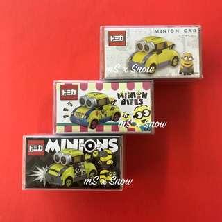 Tomica Minions USJ 限定 一套三架