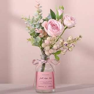 Love Crush Rose Flower Floral Table Arrangement