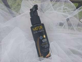 Natur hair tonic ginseng extract