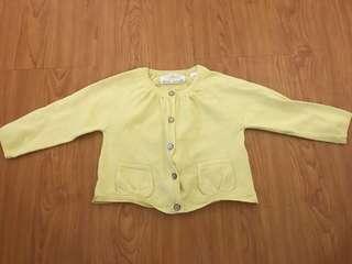 Zara yellow cardigan
