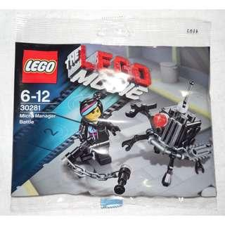 LEGO® Lego Movie 30281 Micro Manager Battle (Polybag)