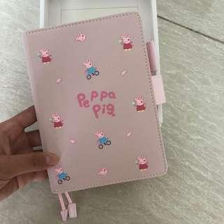 Undated peppa pig planner
