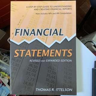 Financial Statements by Thomas R. Ittelson