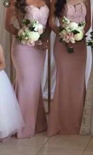 BRAND NEW DOLLHOUSE formal/wedding dress