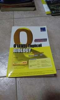 O Level TYS Topical Biology