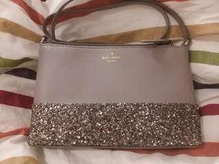 ♥️♠️Kate Spade Crossbody Handbag Gray♥️♠️