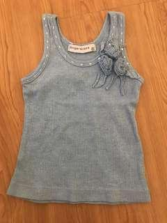 Gingersnaps Blue Top