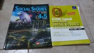 Social Studies Textbook and Topical TYS