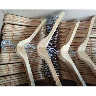 Wood Hanger - Hanger Kayu - 300 pieces available