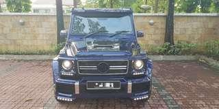 Merc G Wagon For Rent Lease