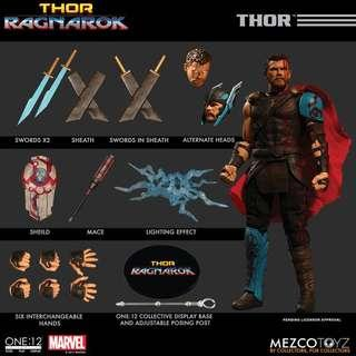 Mezco Thor Ragnarok Thor