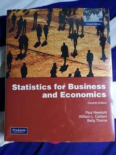 Statistic for Business and Economics