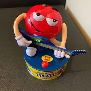 M&ms musical figurine collector