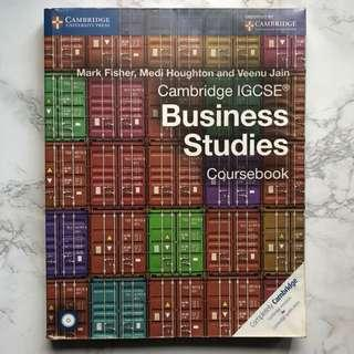 Cambridge igcse business studies text book coursebook
