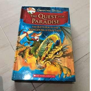Geronimo Stilton The Quest For Paradise The Return To the Kingdom of Fantansy