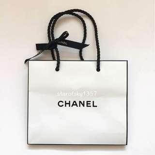 🚚 名牌 紙袋 CHANEL 專櫃 手提袋 二手 現貨