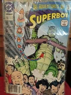 DC The Adventures of Superboy Comics July 1991