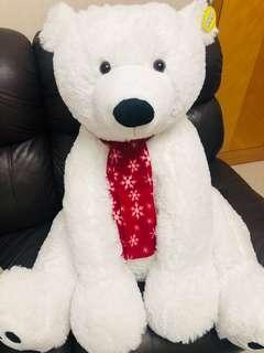 Aia可愛大熊啤 白色北極熊 禮物