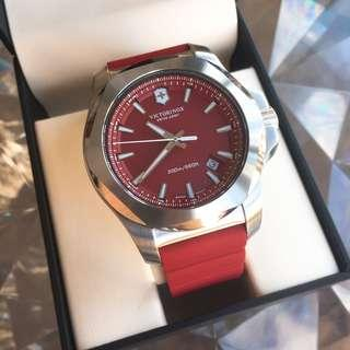 Victorinox I.N.O.X. Watch in Red