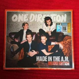 One Direction Made In The A.M ( Deluxe ) Album