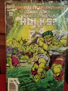 Marvel Comics Hulk March 1995