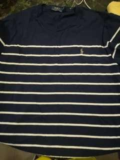polo ralph tee shirt stripe