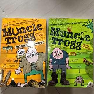 Muncle Trogg and the Flying Doney story collection to clear