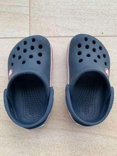 Crocs sandals size 5 for junior