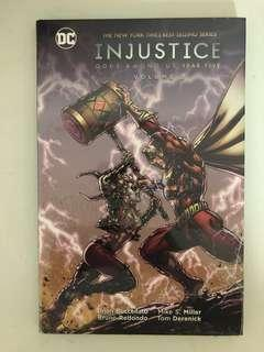 Injustice Gods Among Us Year 5 Volume 2 Hardcover (DC Comics)