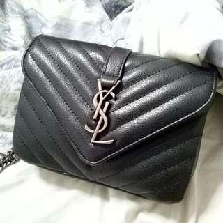 Yves Saint Laurent Ysl Small Monogram Sling Bag