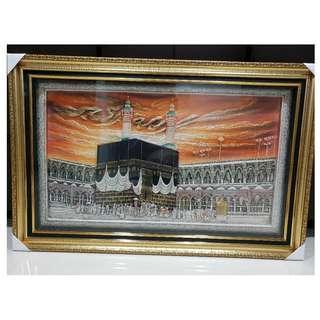 Islamic Art Kabah Tawaf
