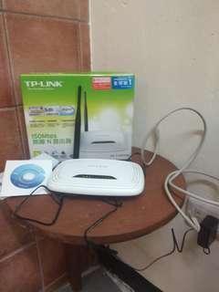 🚚 TP-LINK TL-WR740N WIFi分享器 路由器