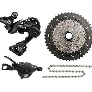 Shimano XT M8000 11 speed, I-Spec B Groupset
