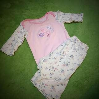 🚚 女寶 純棉 套裝0-6m