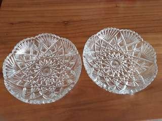 Brand New Heavy Decorative Glass Bowls