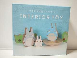 Authentic Totoro Interior Toy set Ornament