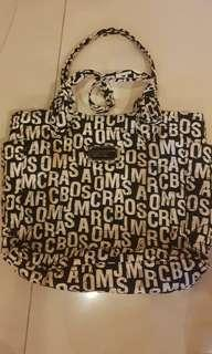 Marc by marc jacob black and white bag