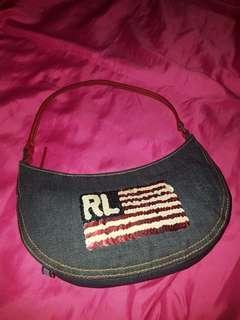 PRELOVED Authentic Ralph Lauren mini bag